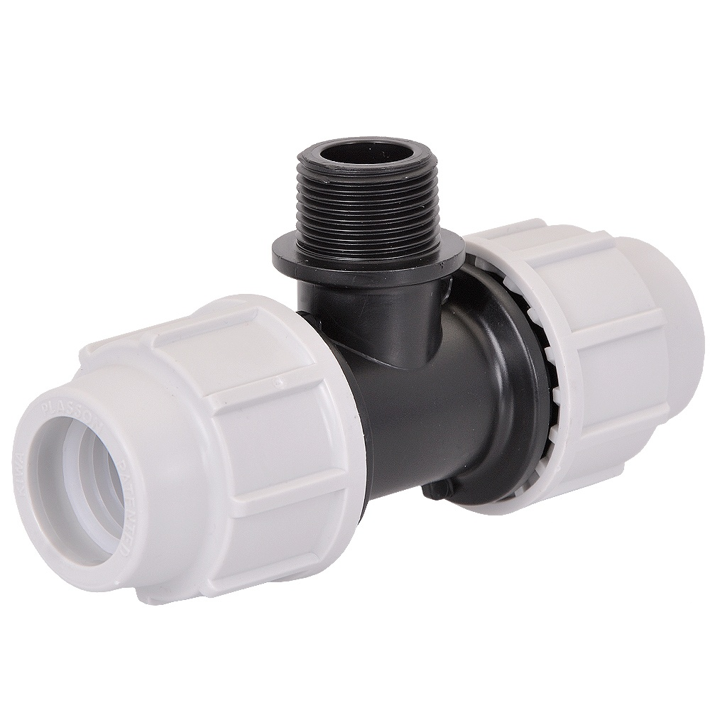 20mm tees male thread 90 degree 20mm compression fittings and connectors pipe fittings. Black Bedroom Furniture Sets. Home Design Ideas