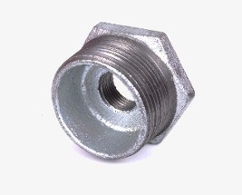 Galvanised Bush Adaptors (Male to Female)