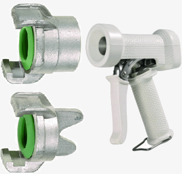 GEKA Chemical Resistant Couplings & Chemical Resistant Spray Guns