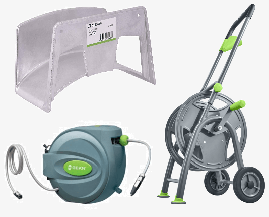 GEKA Hose Hangers, Reels and Carts