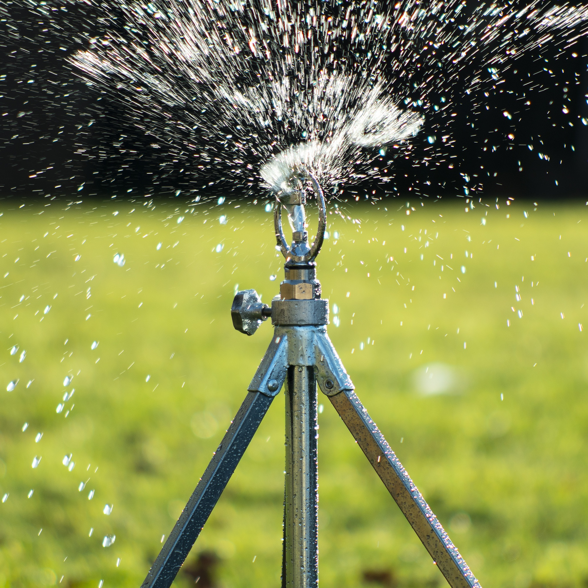 Tripod and Sled Mounted Sprinklers