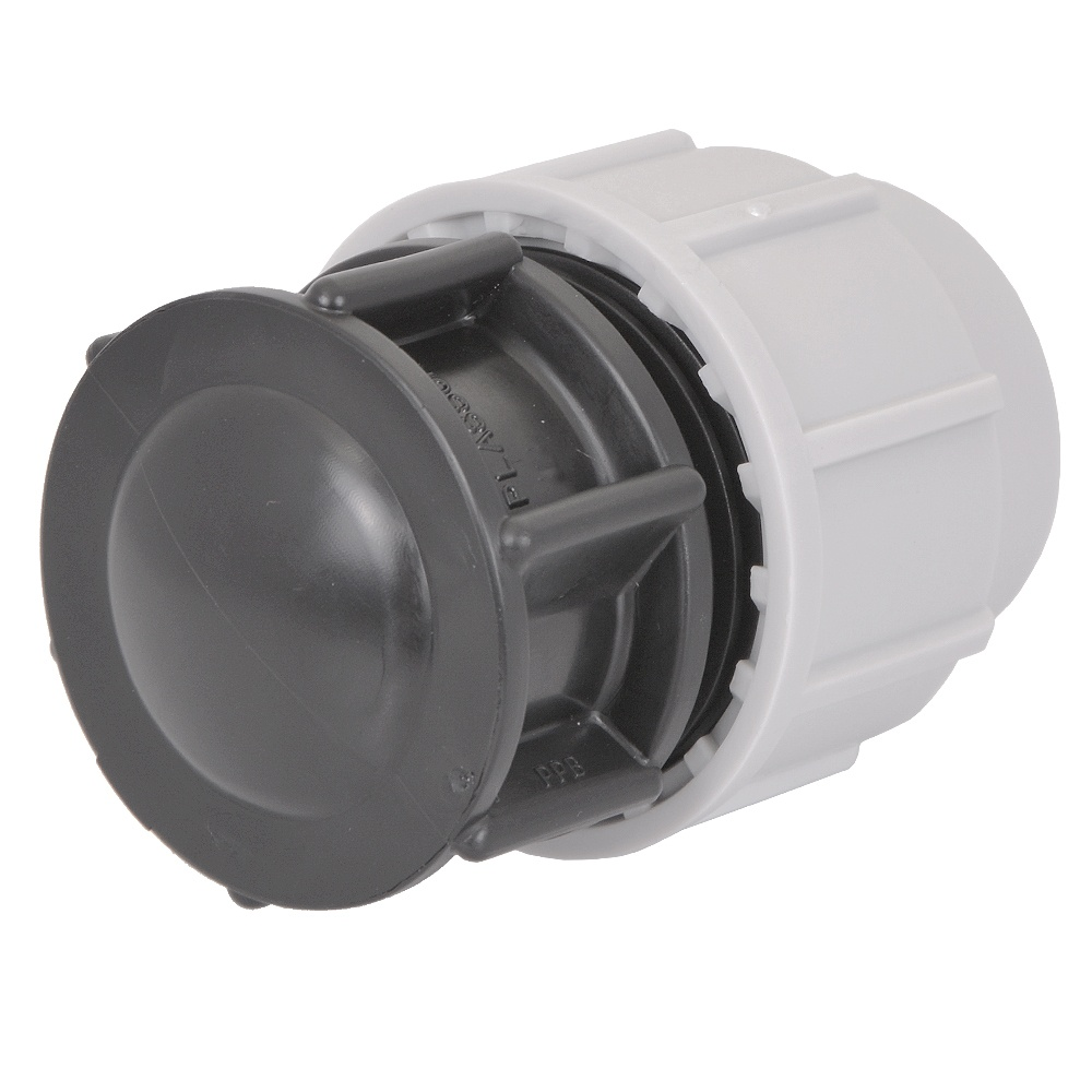 Mm end stop compression fittings and connectors