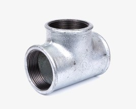 Galvanised Tee Connectors