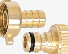 HydroSure Brass Tap & Hose Connectors