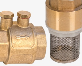 HydroSure Suction Hose Connectors & Foot Valves