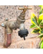 HydroSure 'Nut & Tail' Barbed Irrigation Pipe Tap Connector - 4mm