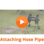 Attaching Hose Pipe to the HydroSure 60m Kink Free Hose Cart