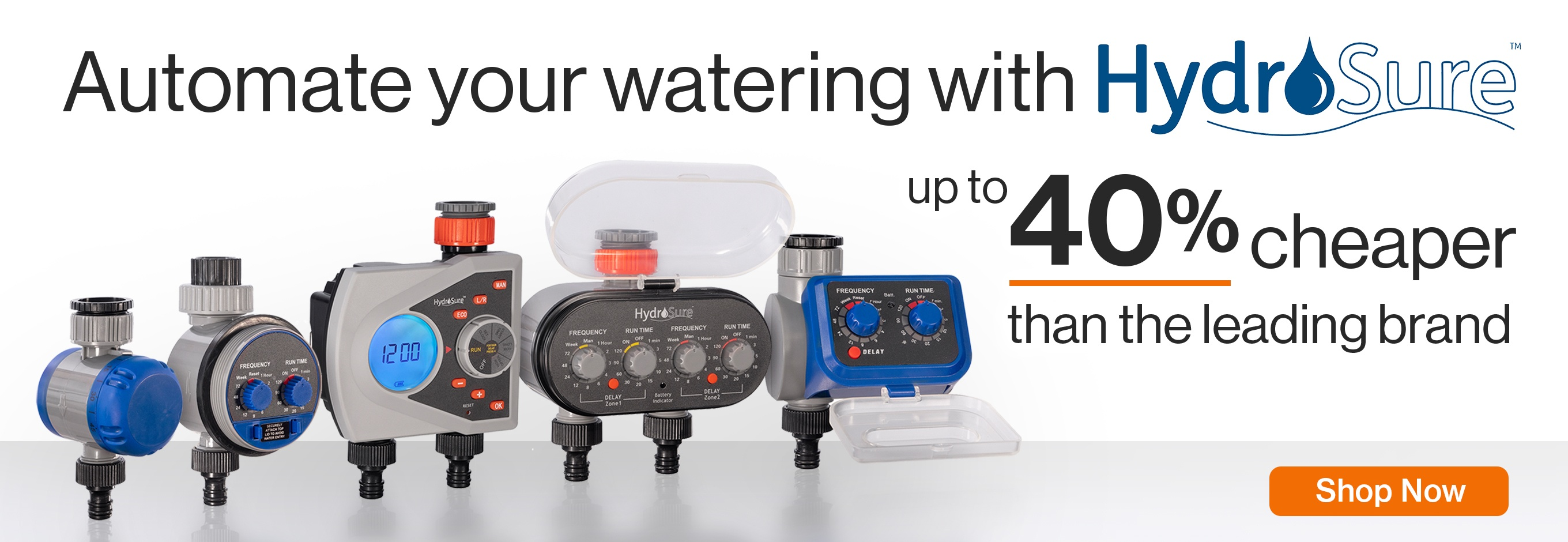 HydroSure Water Timers