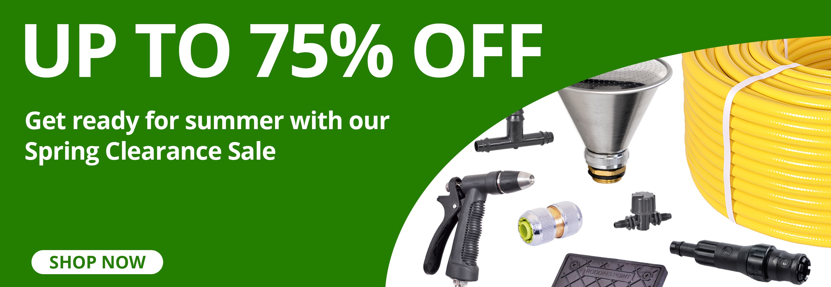 Spring Clearance - Save up to 75%